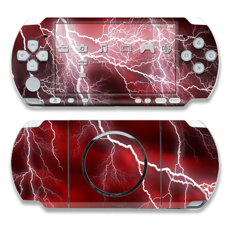 Apocalypse Red PSP 3000 Skin
