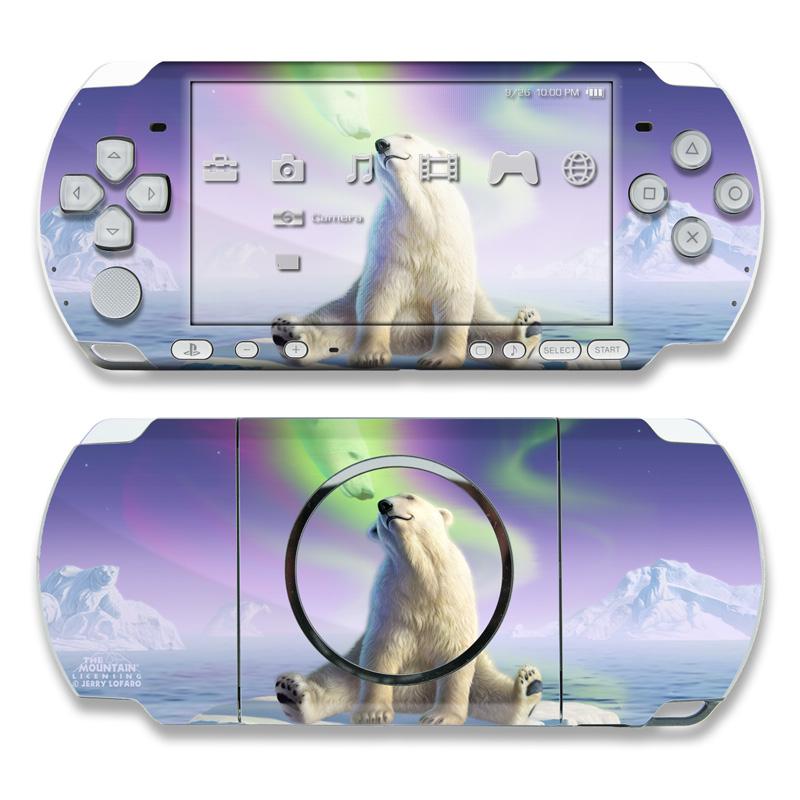 Arctic Kiss PSP 3000 Skin