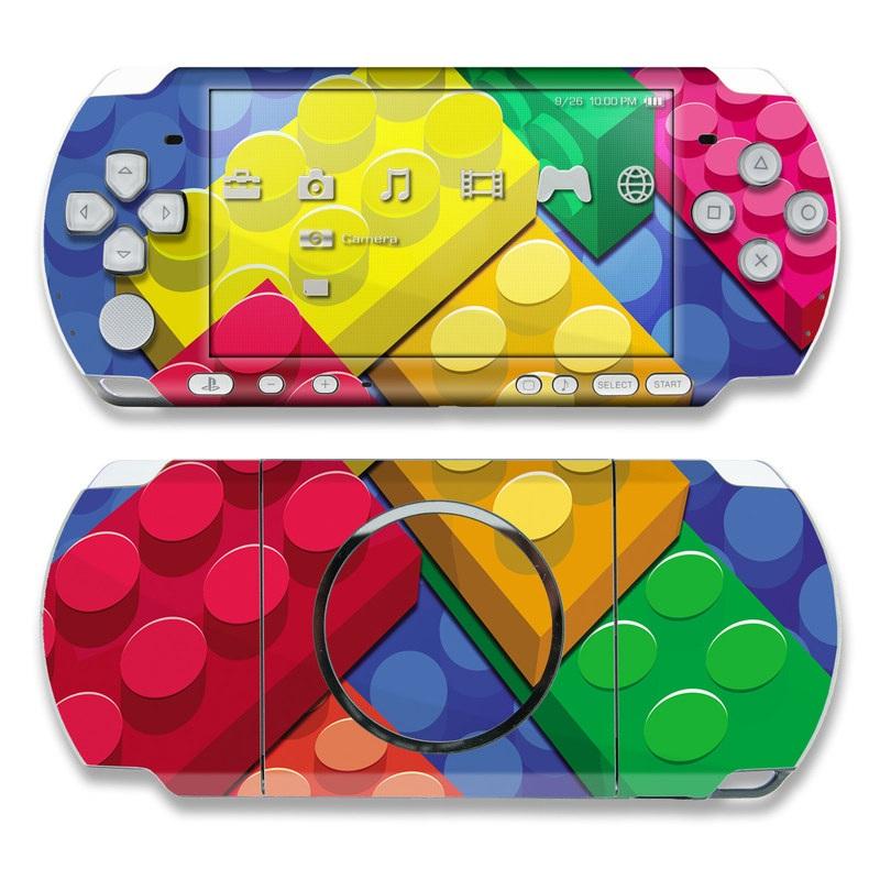 Bricks PSP 3000 Skin