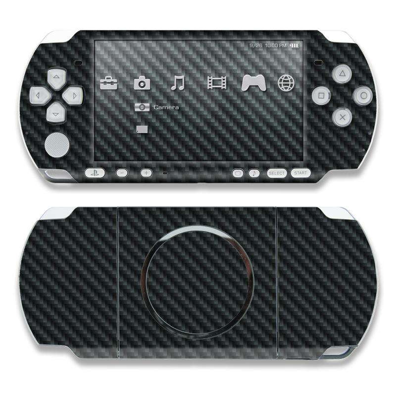 Carbon Fiber PSP 3000 Skin