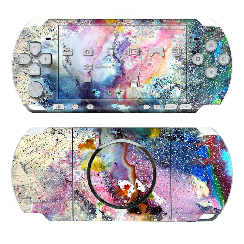 Cosmic Flower PSP 3000 Skin
