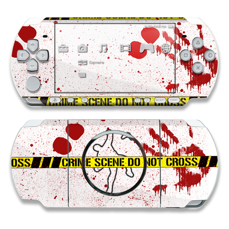 Crime Scene Revisited PSP 3000 Skin