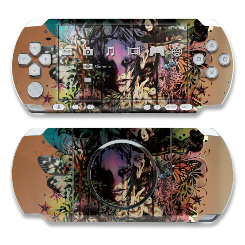 Doom and Bloom PSP 3000 Skin