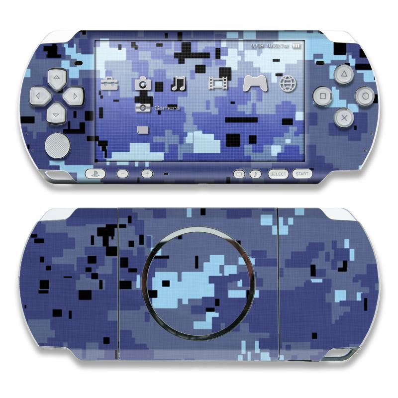 Digital Sky Camo PSP 3000 Skin
