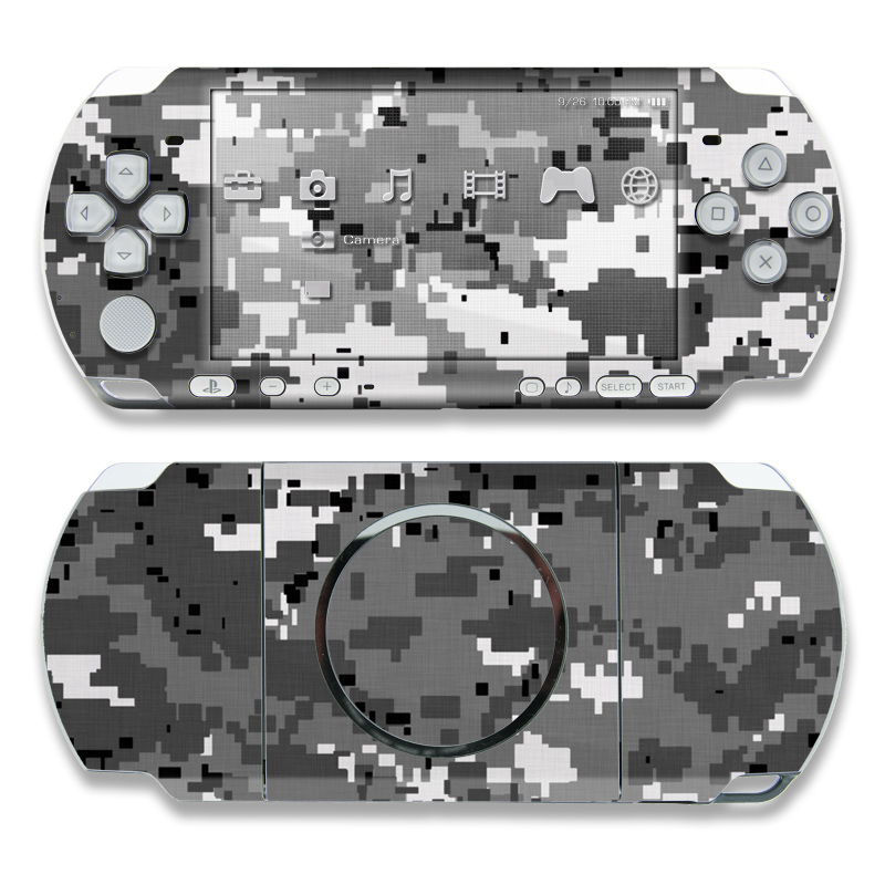 Digital Urban Camo PSP 3000 Skin