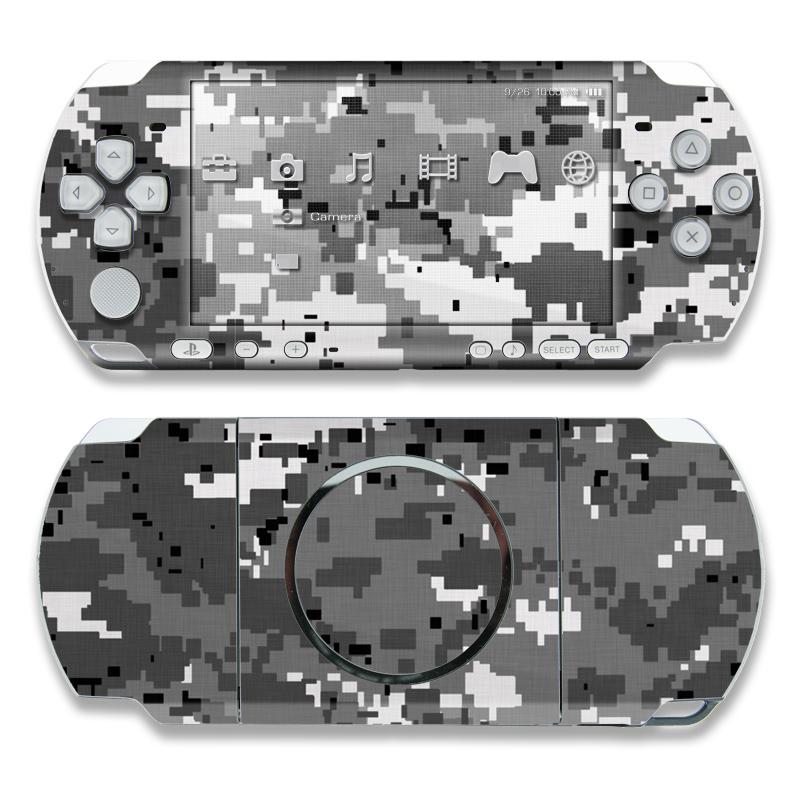 Digital Urban Camo PSP 3000 Skin