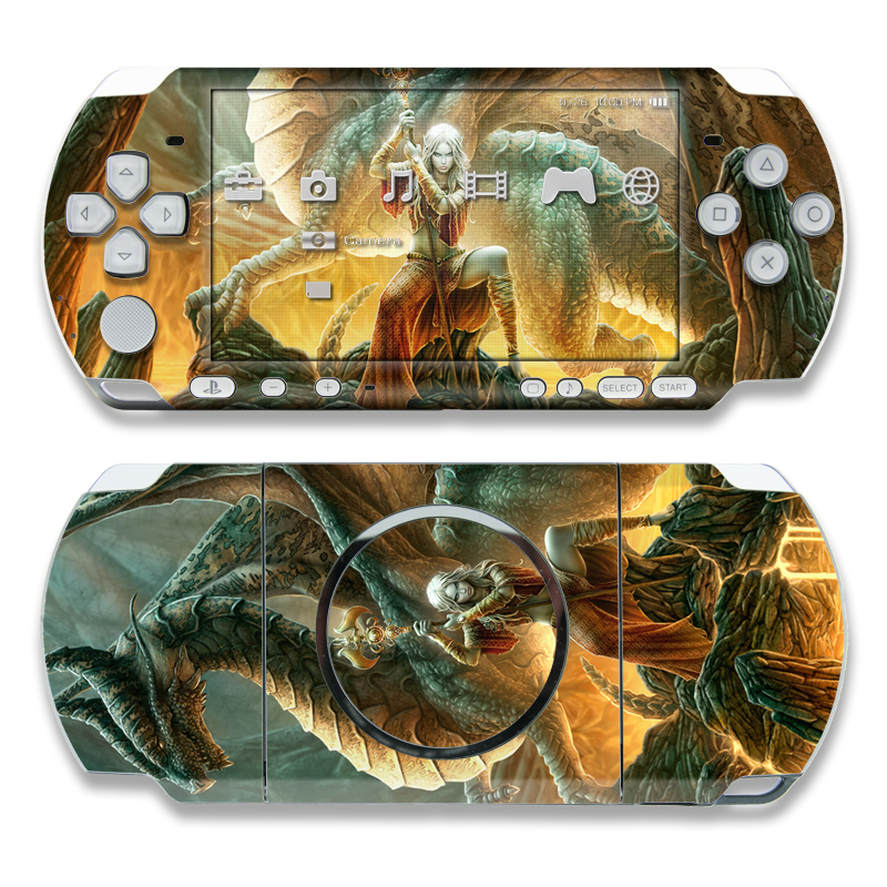 Dragon Mage PSP 3000 Skin