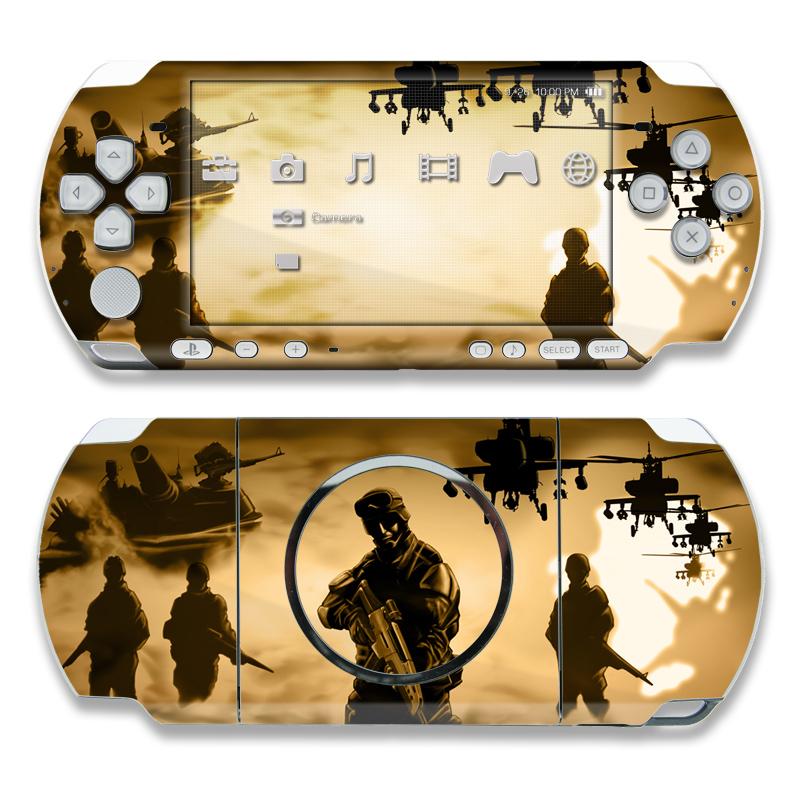Desert Ops PSP 3000 Skin