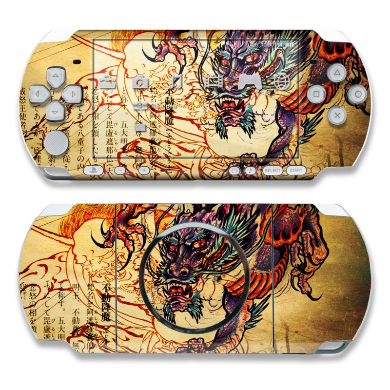 Dragon Legend PSP 3000 Skin