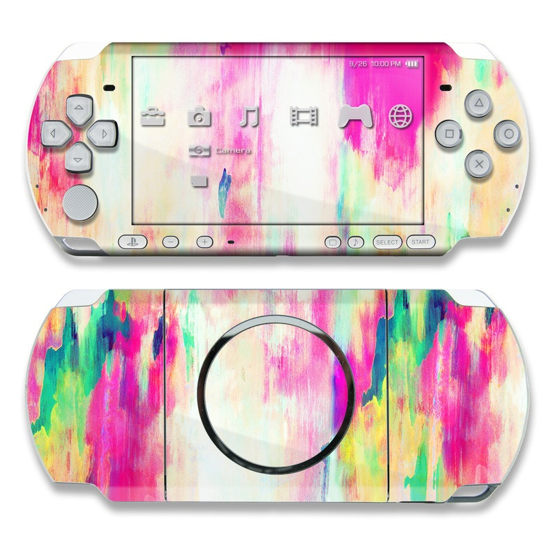 Electric Haze PSP 3000 Skin