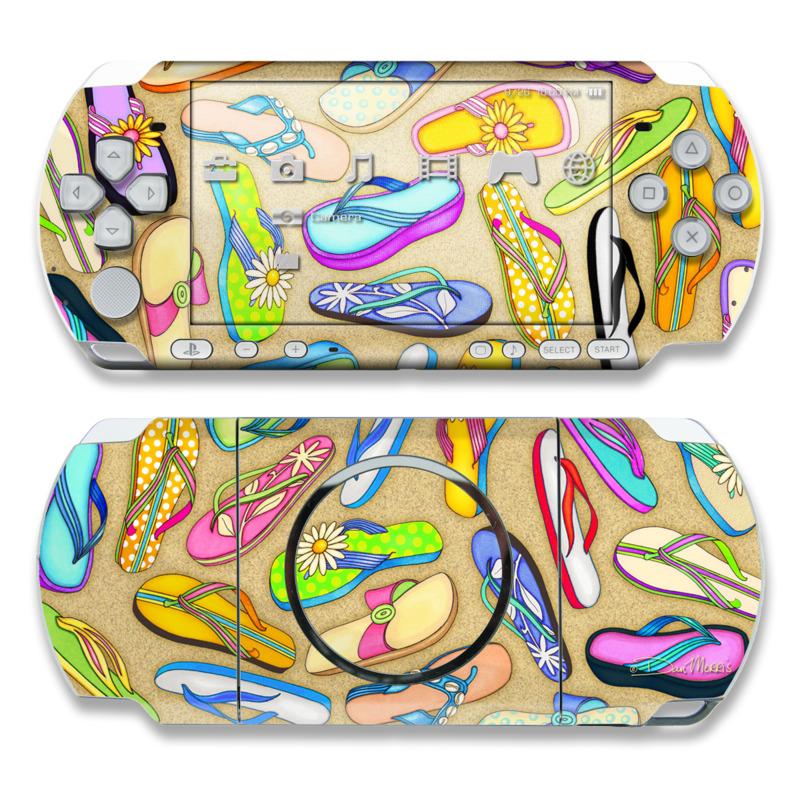 Flip Flops PSP 3000 Skin