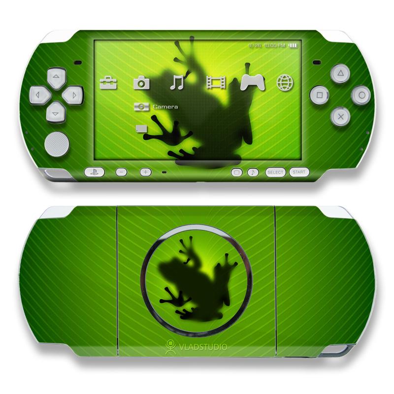 Frog PSP 3000 Skin