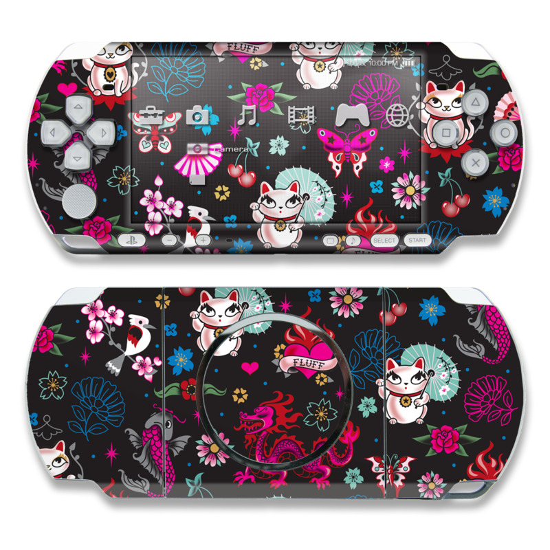 Geisha Kitty PSP 3000 Skin