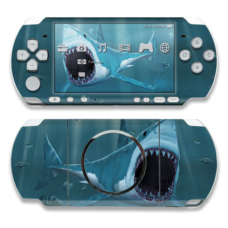 Great White PSP 3000 Skin