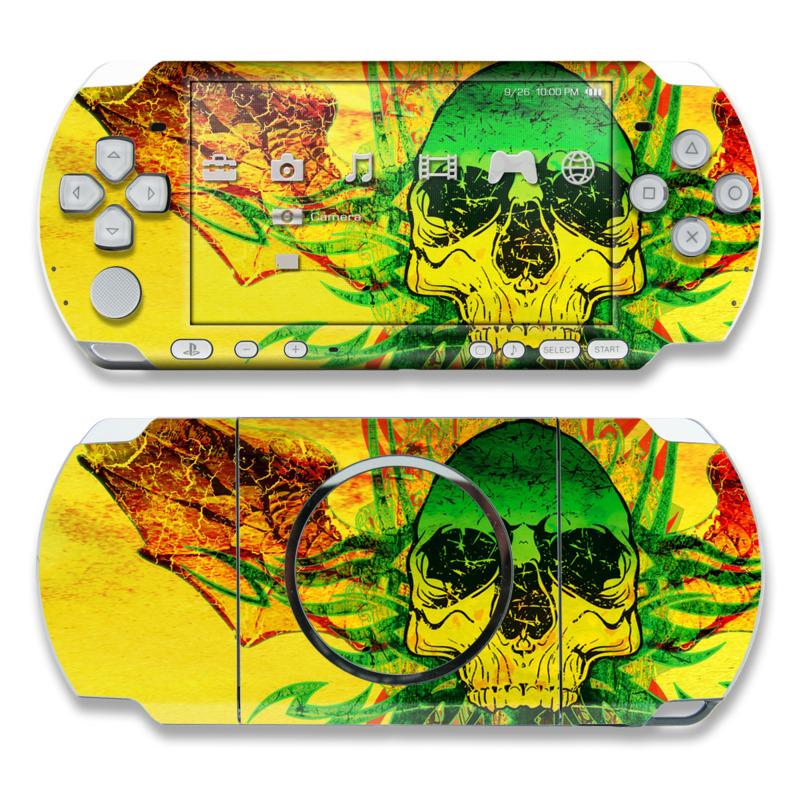 Hot Tribal Skull PSP 3000 Skin