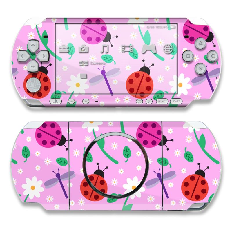 Ladybug Land PSP 3000 Skin