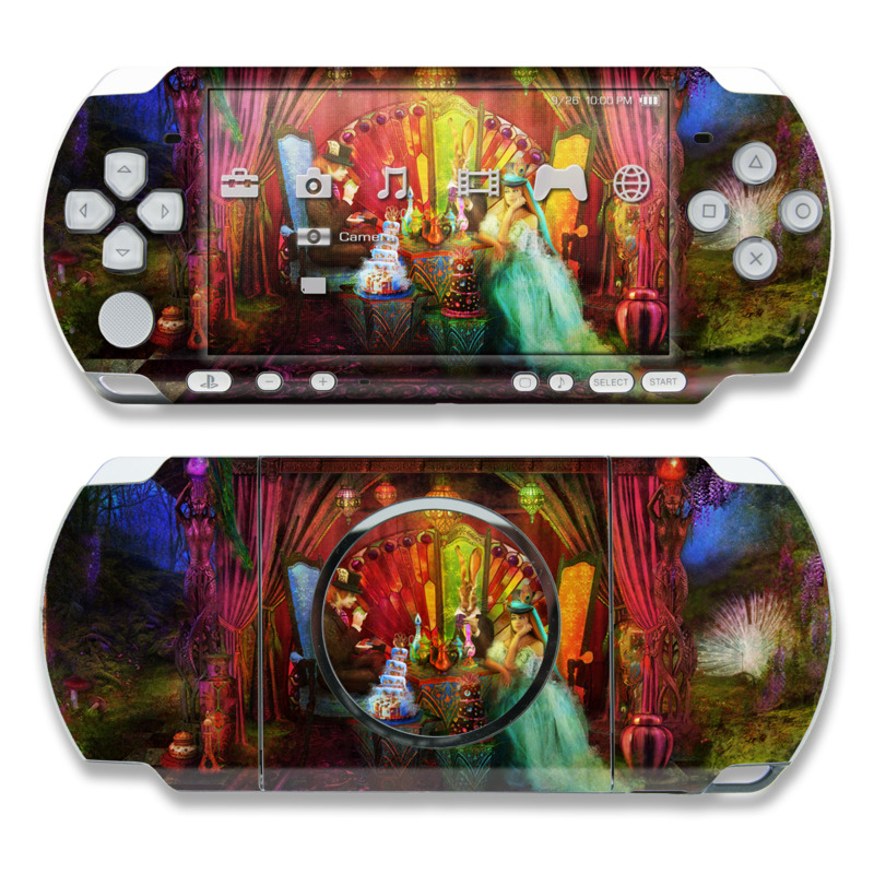 A Mad Tea Party PSP 3000 Skin