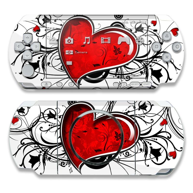 My Heart PSP 3000 Skin