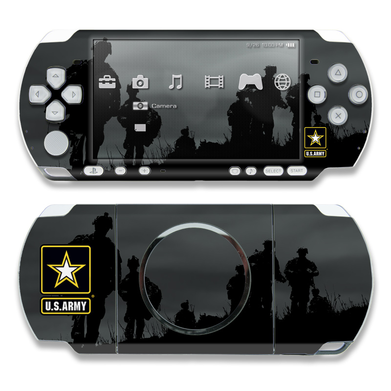 Night Action PSP 3000 Skin