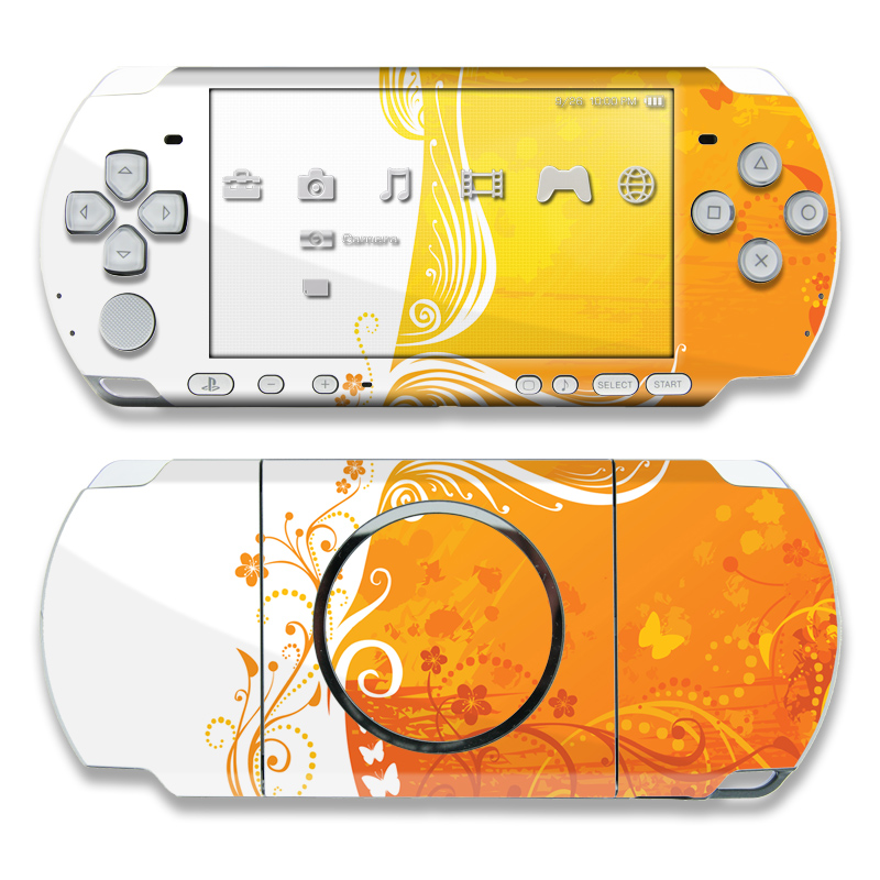 Orange Crush PSP 3000 Skin