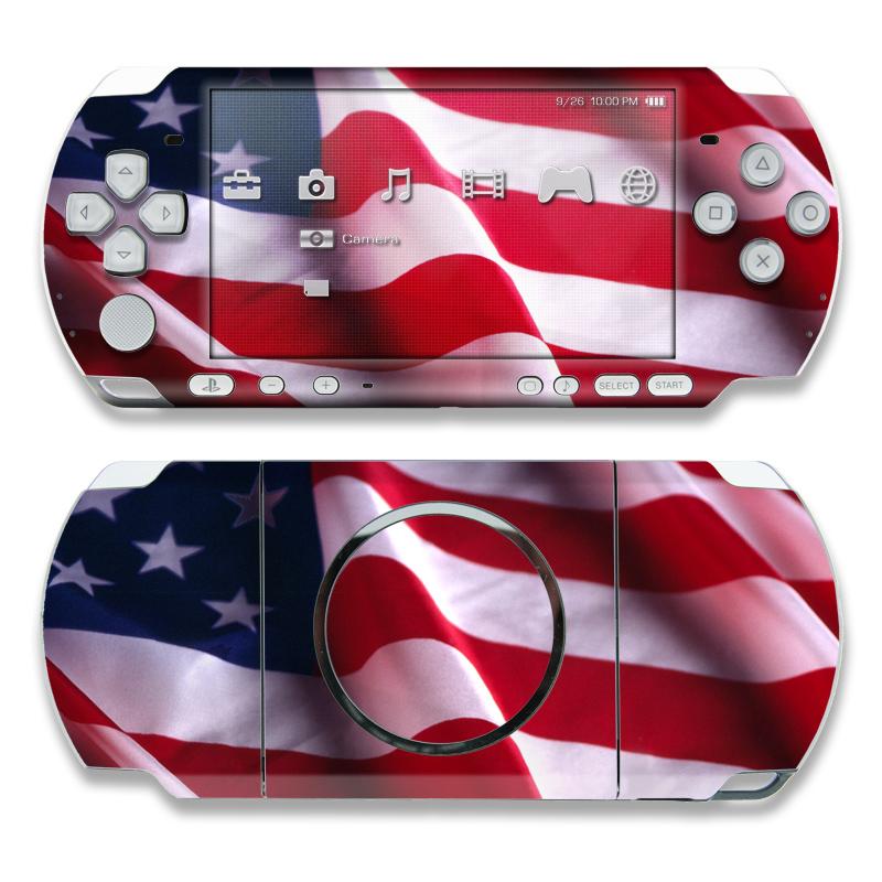 Patriotic PSP 3000 Skin