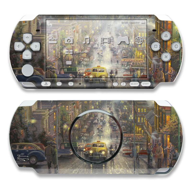 Heart of San Francisco PSP 3000 Skin