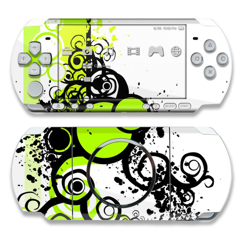 Simply Green PSP 3000 Skin