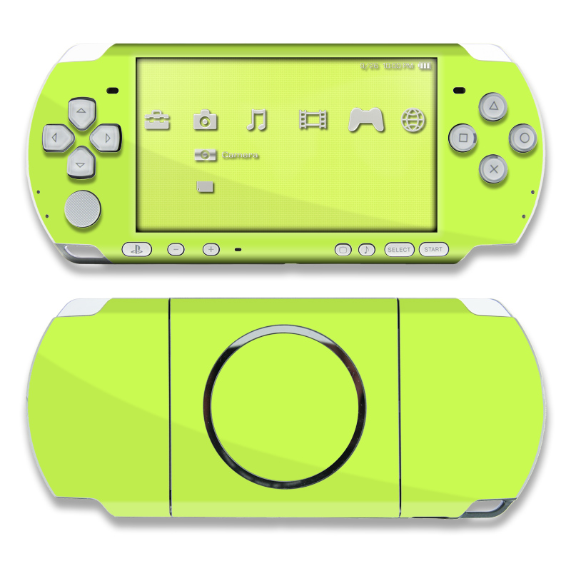 Solid State Lime PSP 3000 Skin