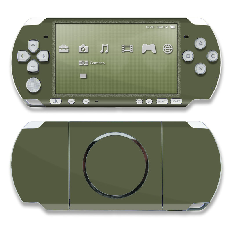 Solid State Olive Drab PSP 3000 Skin