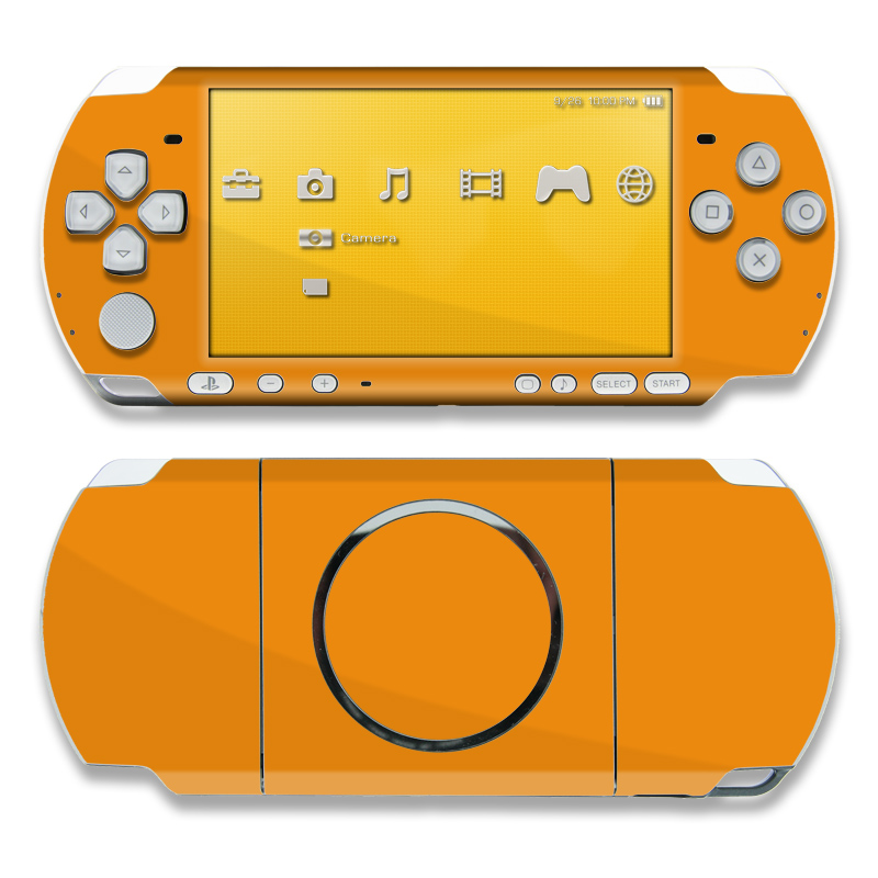 Solid State Orange PSP 3000 Skin