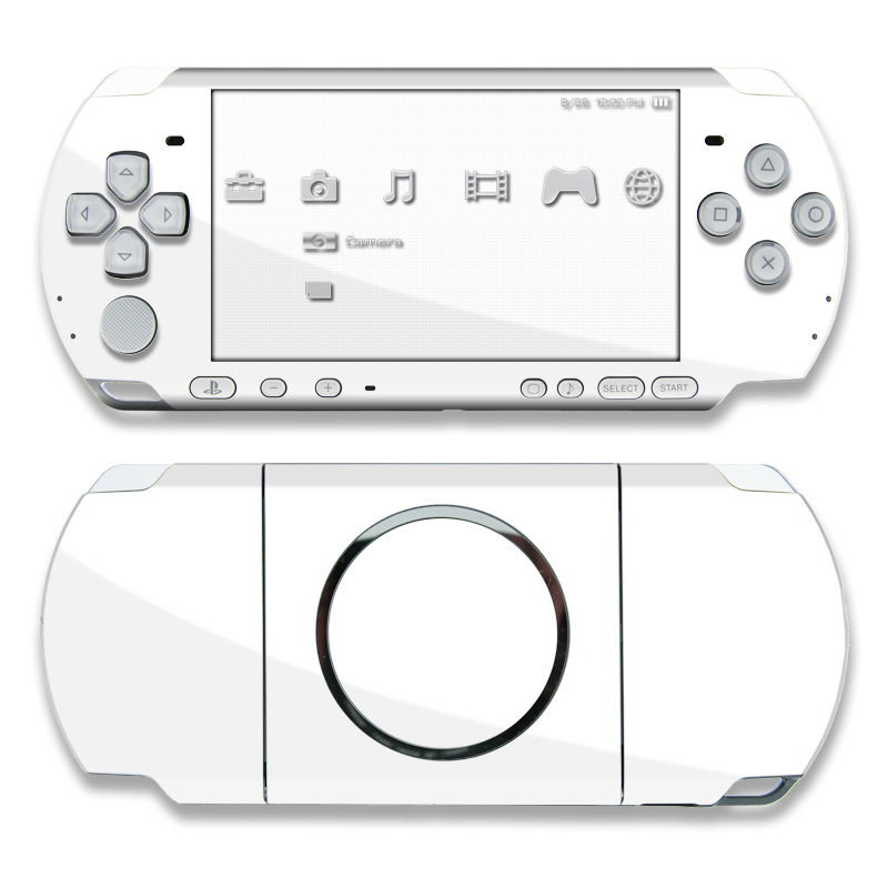 Solid State White PSP 3000 Skin