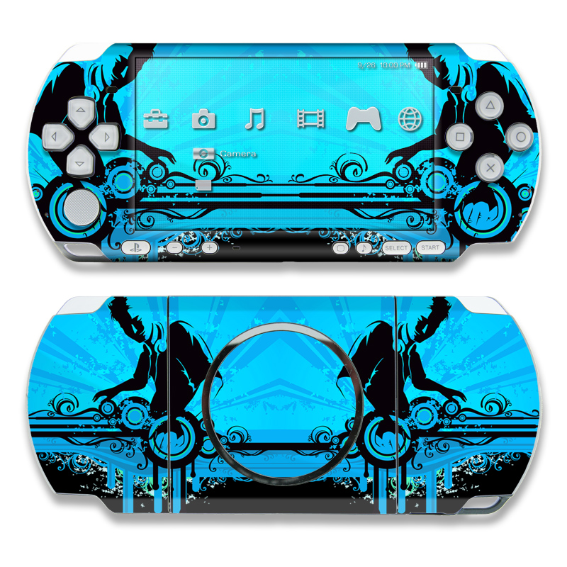 The DJ PSP 3000 Skin | iStyles your Sony PlayStation Portable 3000