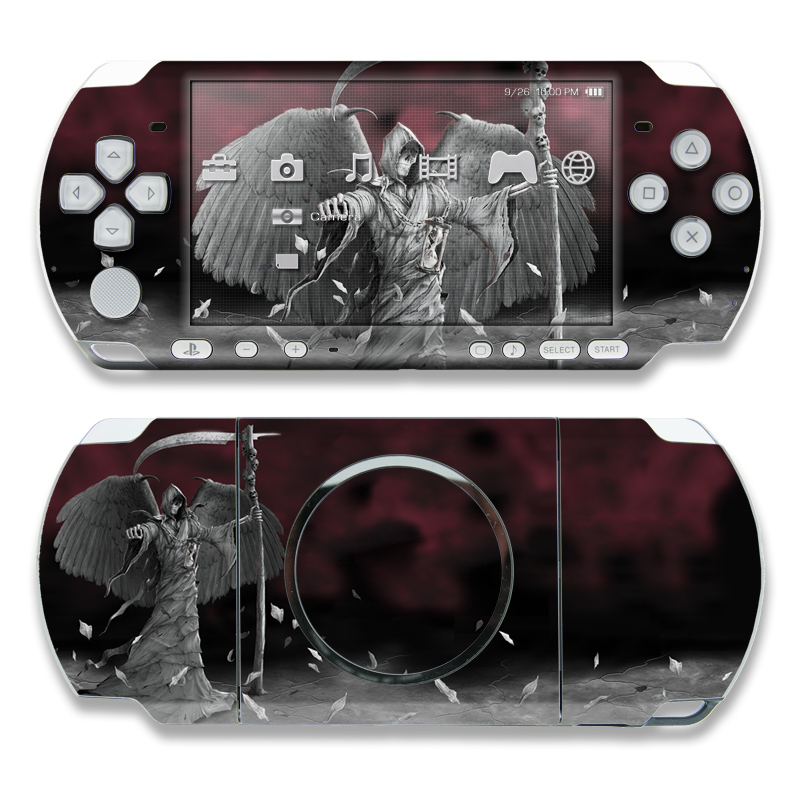 Time is Up PSP 3000 Skin