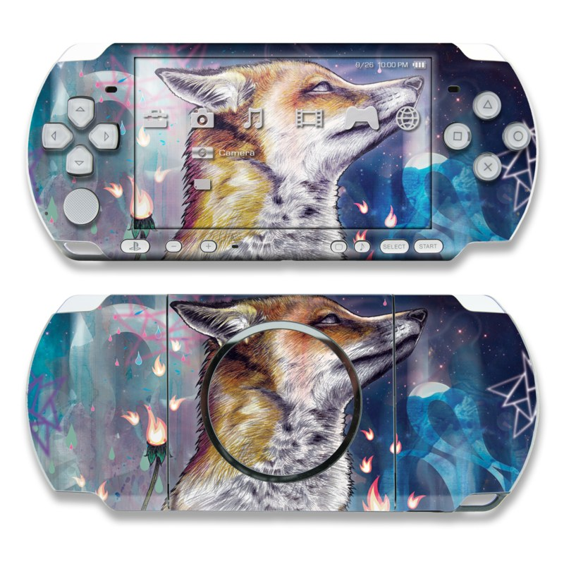 There is a Light PSP 3000 Skin