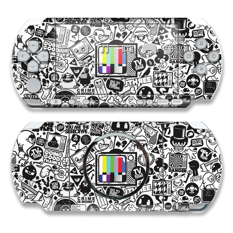 TV Kills Everything PSP 3000 Skin