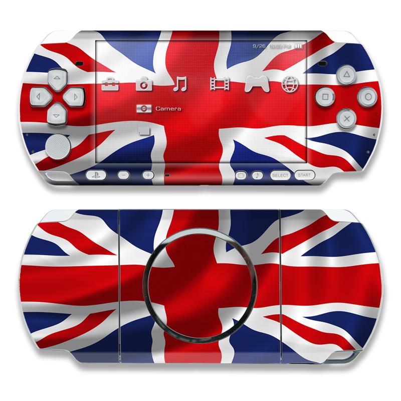 Union Jack PSP 3000 Skin