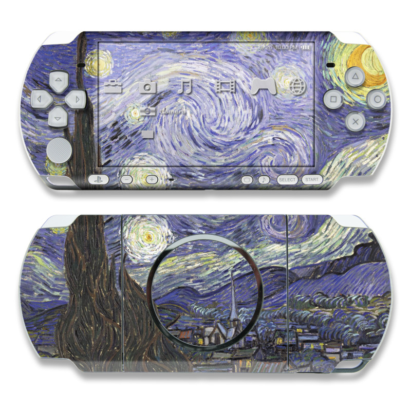 Starry Night PSP 3000 Skin