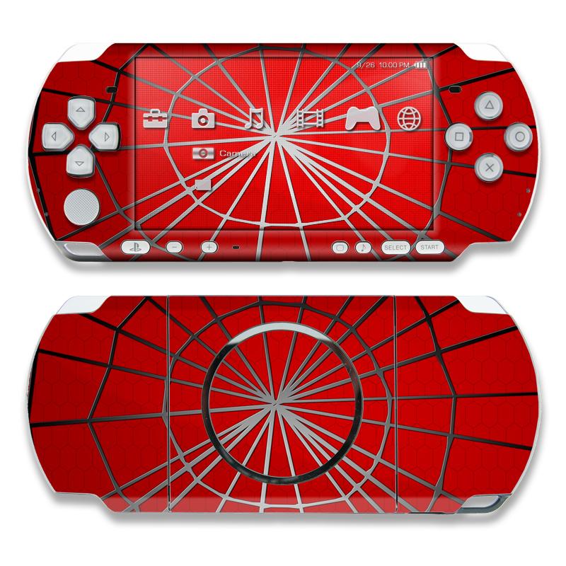 Webslinger PSP 3000 Skin
