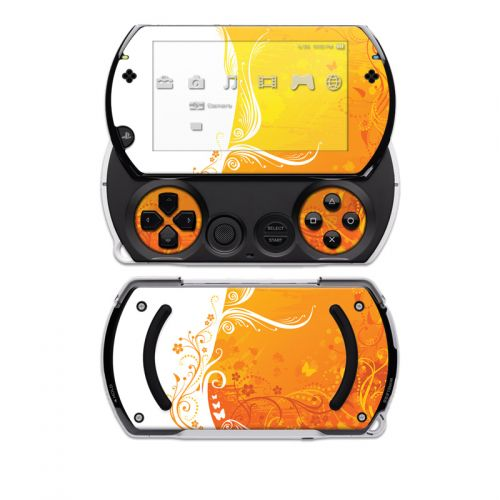 Orange Crush Sony PSP go Skin