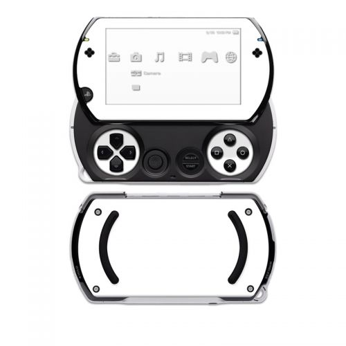Solid State White Sony PSP go Skin