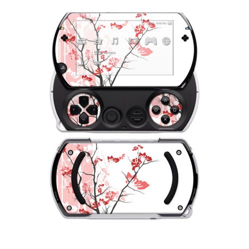 Pink Tranquility Sony PSP go Skin