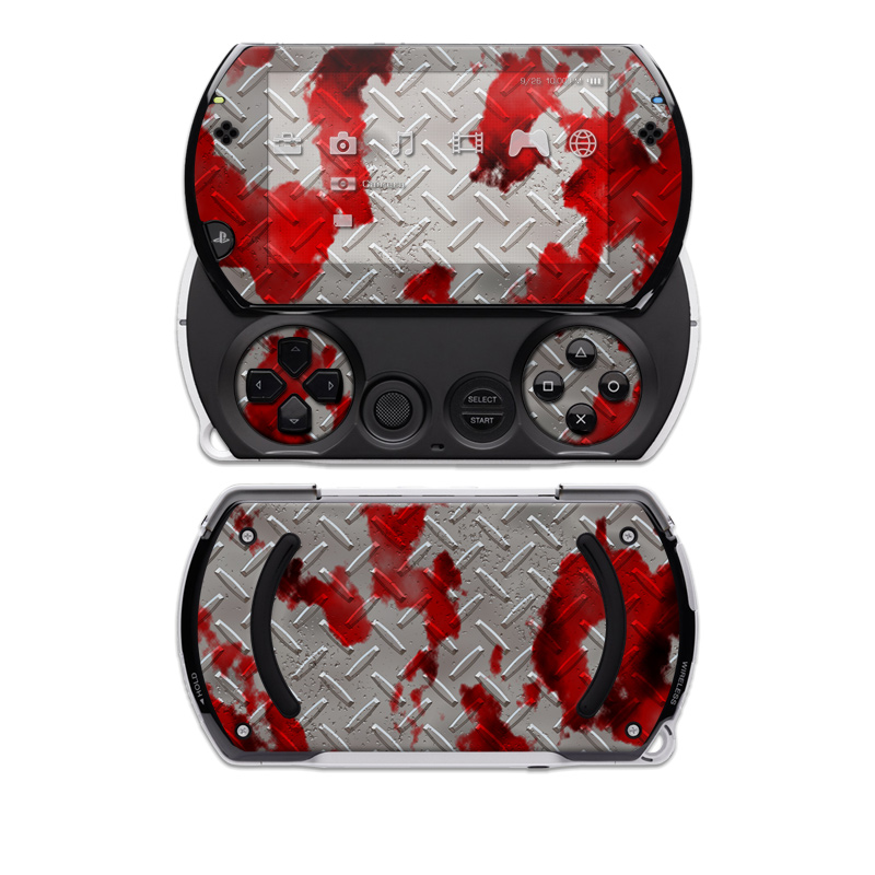 Accident PSP go Skin