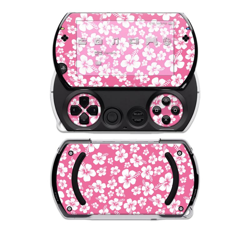 Aloha Pink Sony PSP go Skin