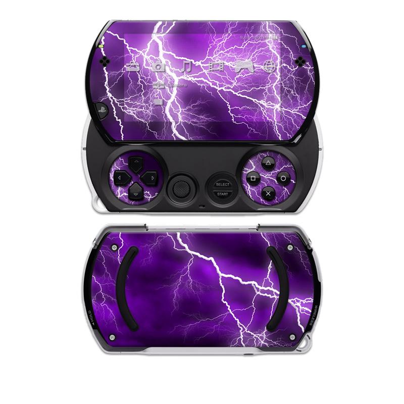 Apocalypse Violet PSP go Skin