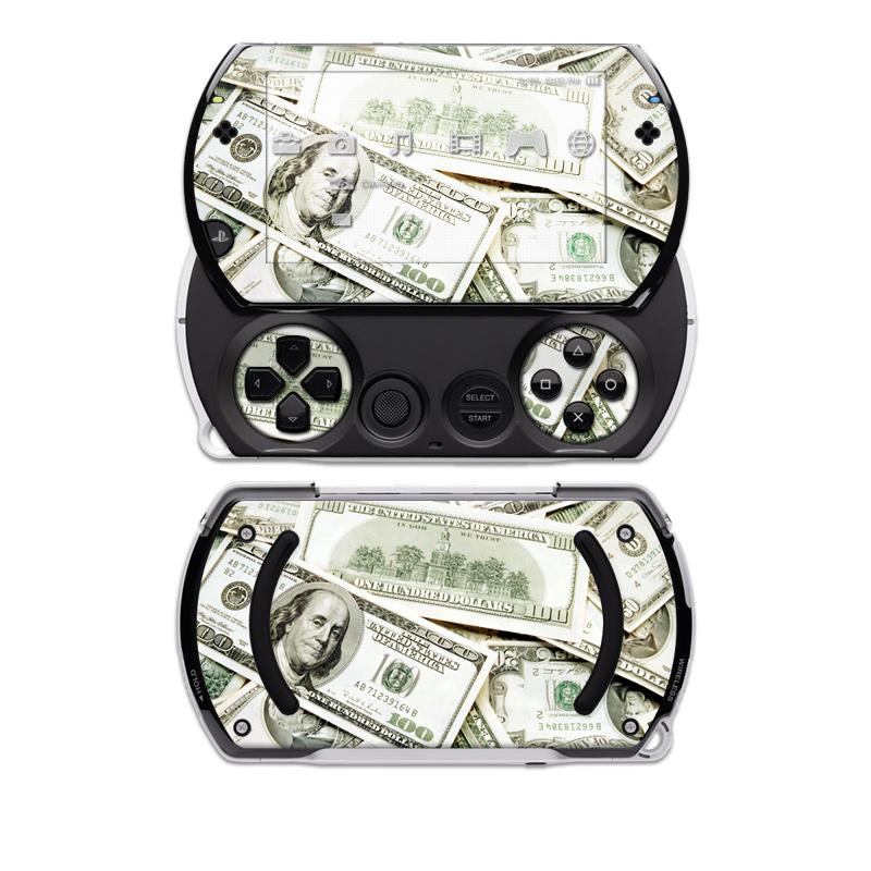 Benjamins Sony PSP go Skin