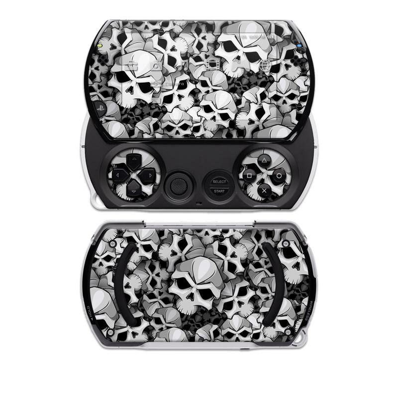 Bones Sony PSP go Skin