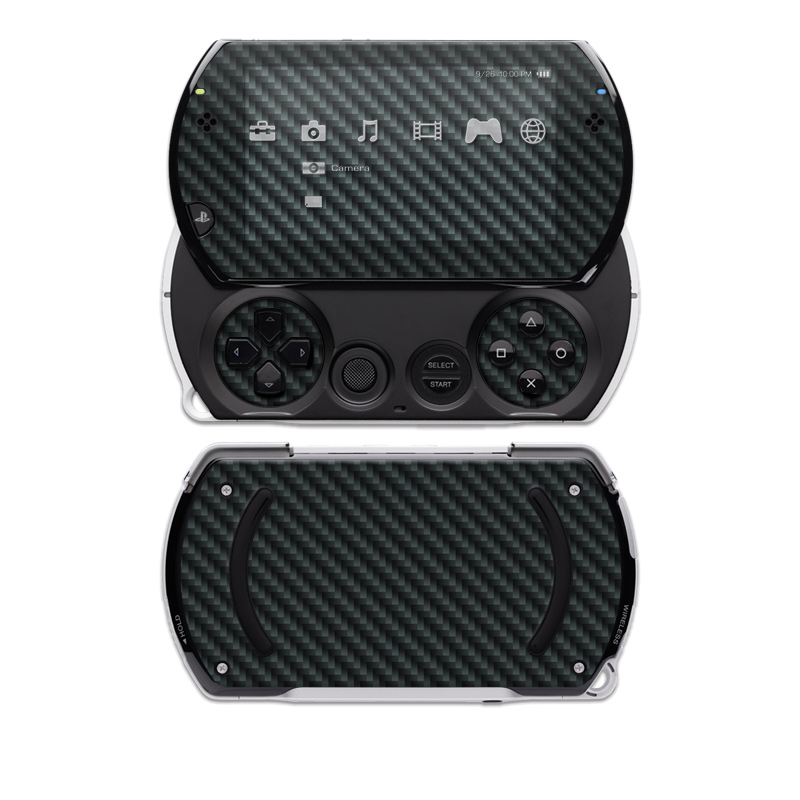 Carbon Sony PSP go Skin