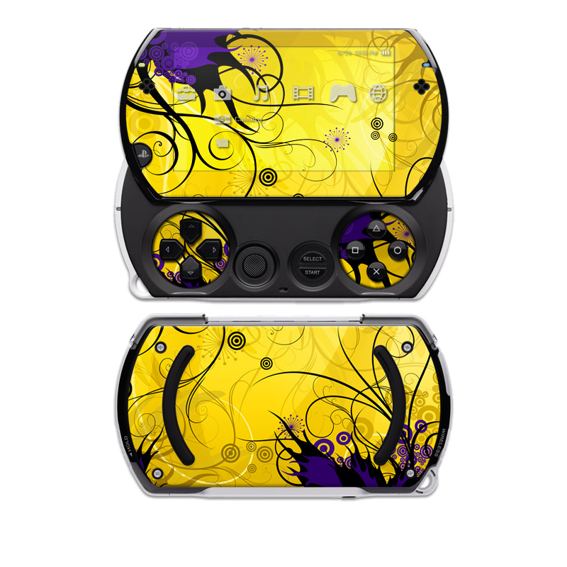Chaotic Land Sony PSP go Skin