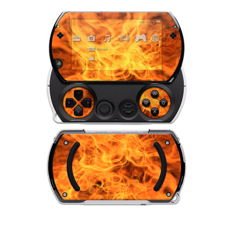 Combustion Sony PSP go Skin