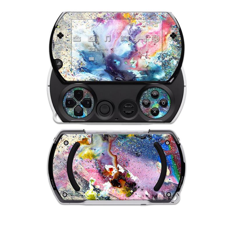 Cosmic Flower Sony PSP go Skin